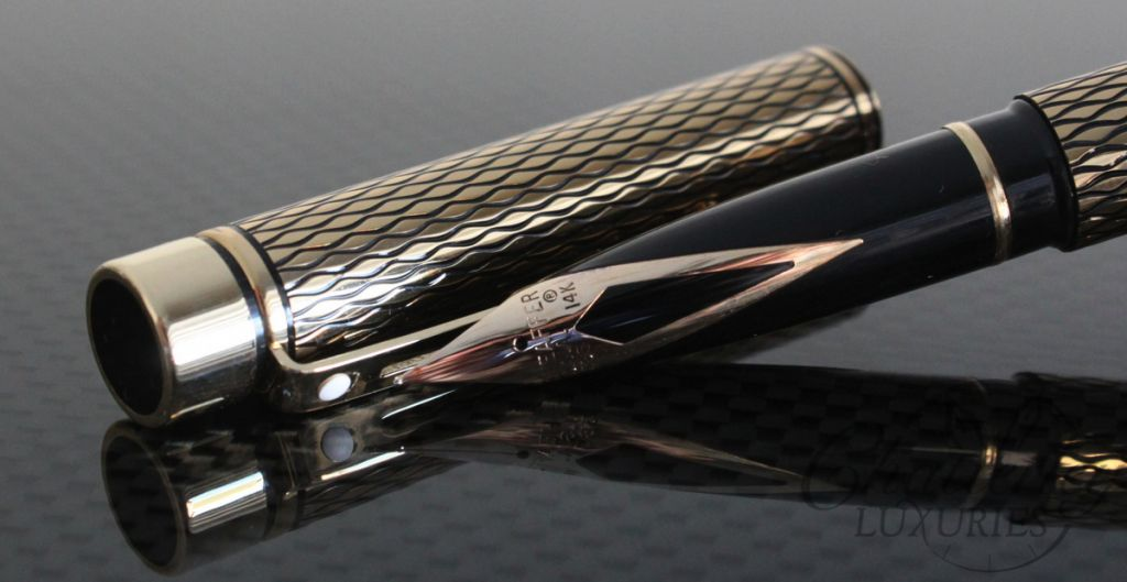 Shaeffer Targa Medici Diamond Fountain Pen2