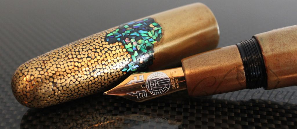 Danitrio Genbu Turtle and Snake Fountain Pen