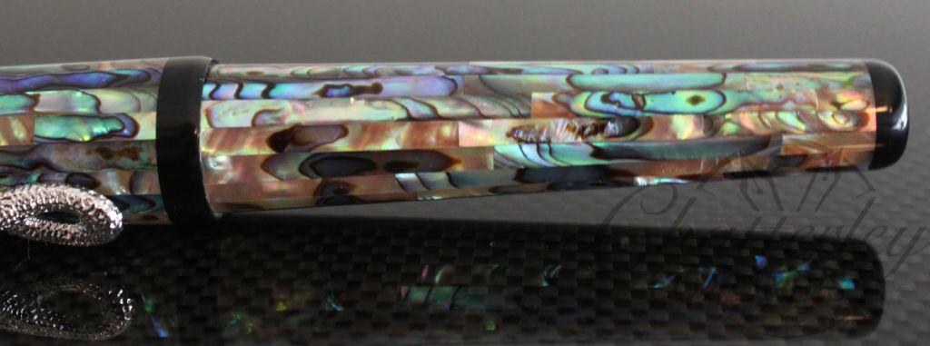 Danitrio Pearlescent MOP Snake Clip Fountain Pen4