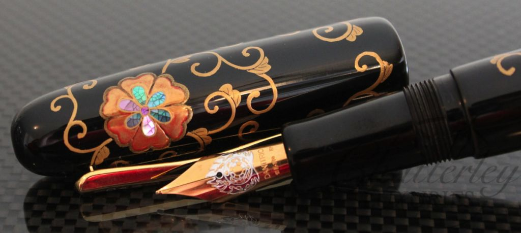 Danitrio Peony Arabesque Fountain Pen7