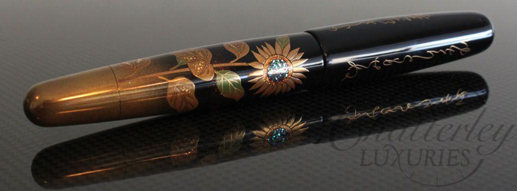 Danitrio Maki E Sunflowers On Mikado Fountain Pen