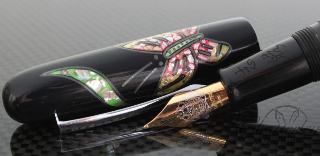 Danitrio Raden Butterfly Fountain Pen