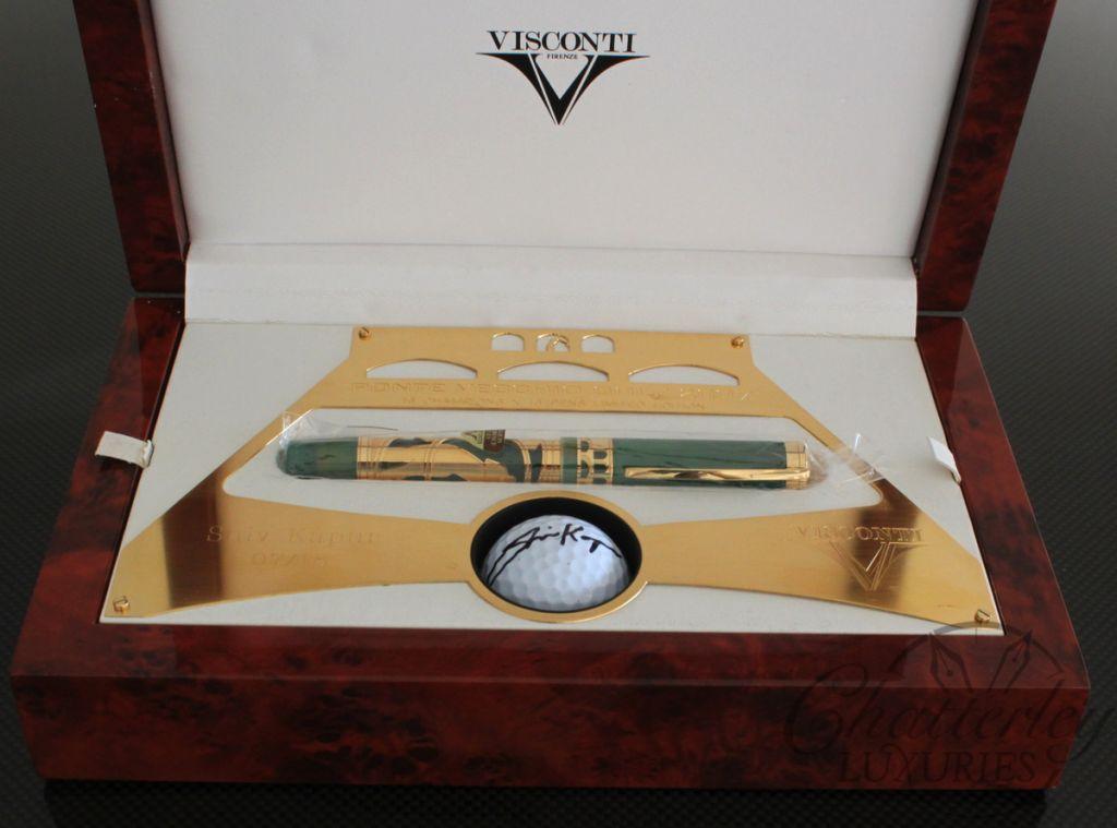 Visconti Ponte Vecchio Golf Limited Edition Fountain Pen – Shiv Kapur