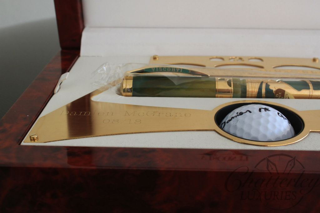 Visconti Ponte Vecchio Golf Limited Edition Fountain Pen - Damien McGrane