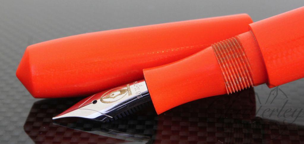 Edison Pens G10 Prototype Fountain Pen in Orange