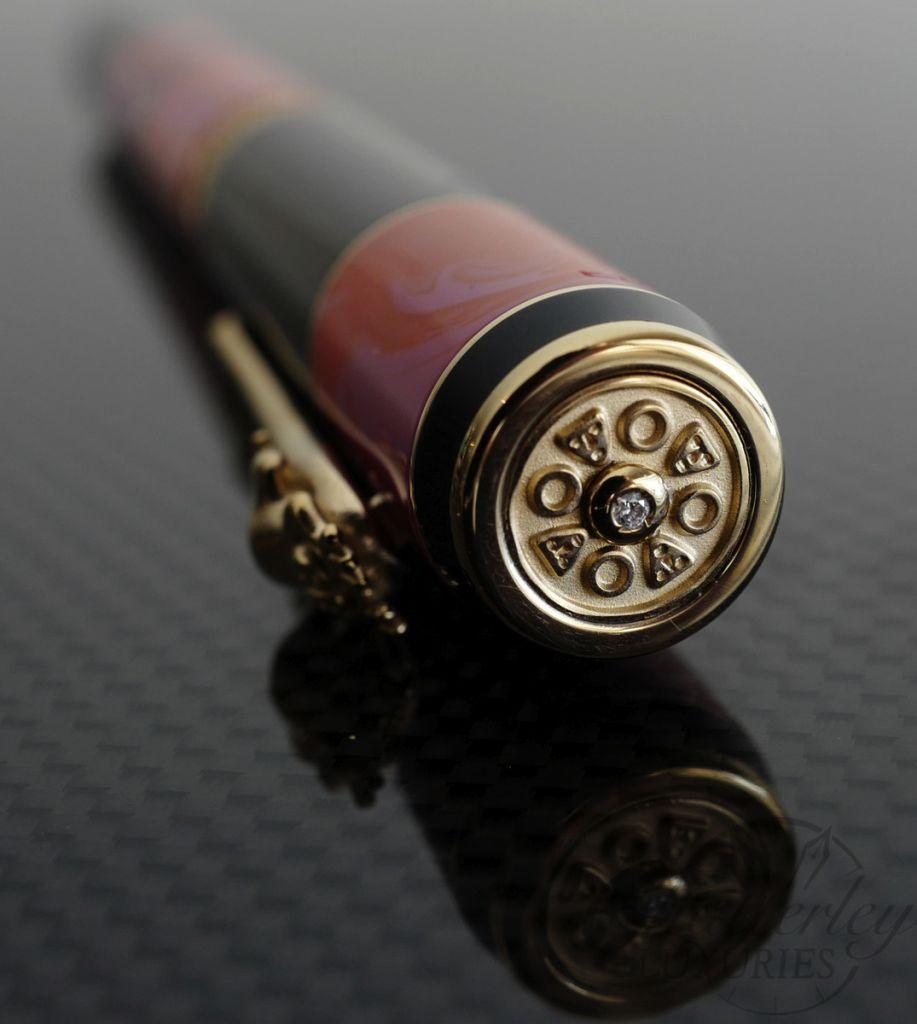 Delta Bribri Solid Gold Trim Celebration Limited Edition Fountain Pen