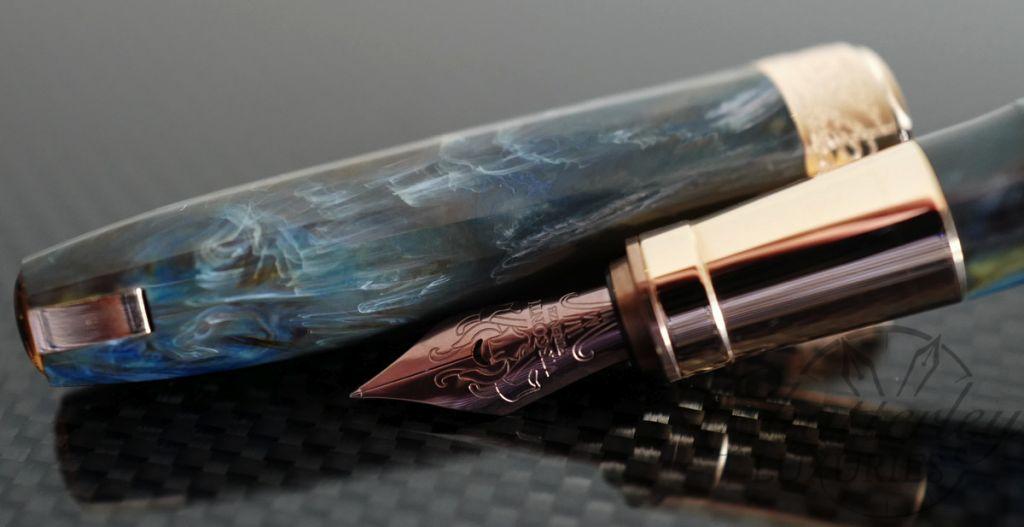 Visconti Van Gogh 125th Anniversary Collection Doctor Gachet Fountain Pen