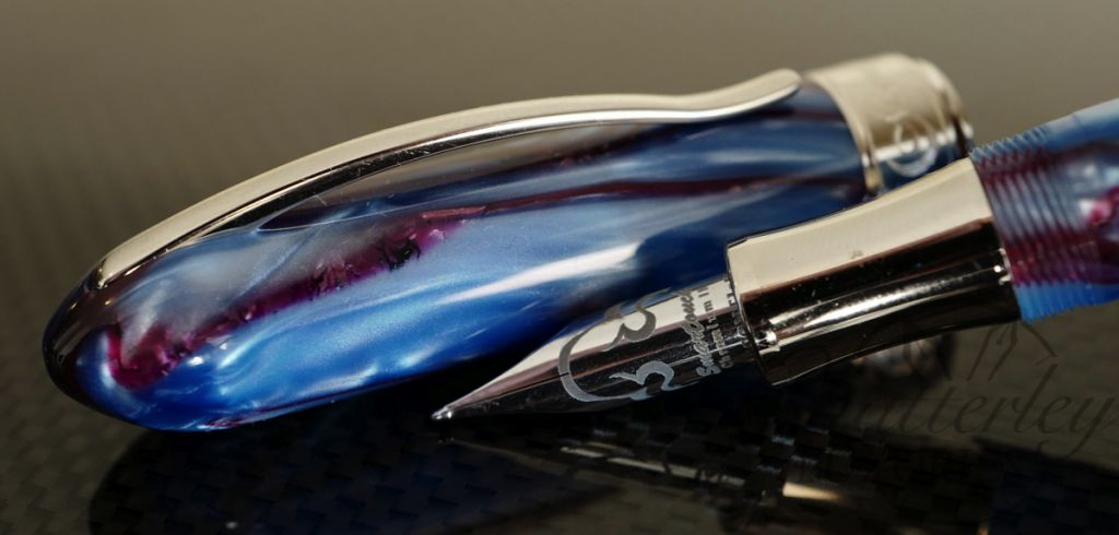 Visconti Limited Edition Millennium Arc Fountain Pen Moonlight Sky Blue