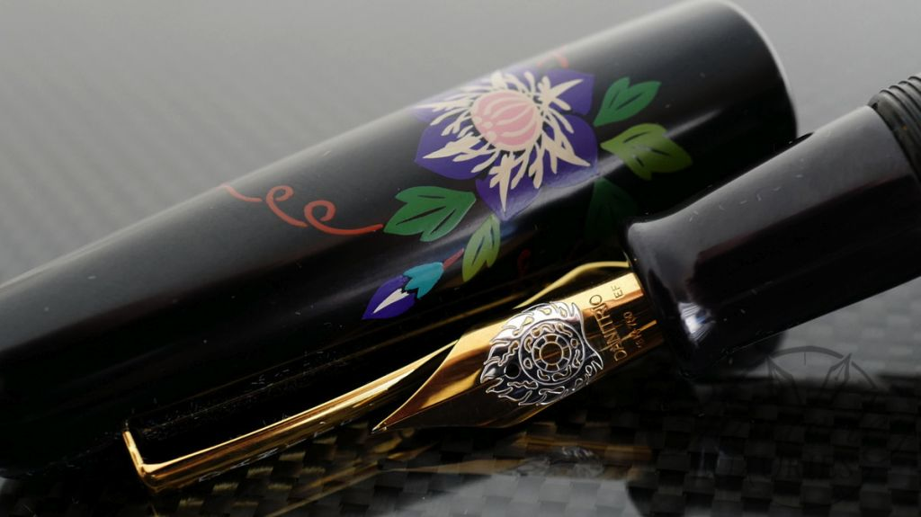 Danitrio Quot Urushi E Quot Urushi Wildflowers Fountain Pen