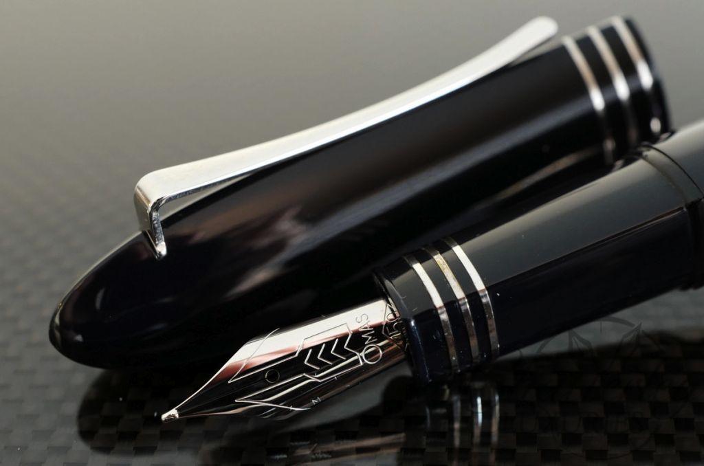 Omas 360 Black Piston Fountain Pen