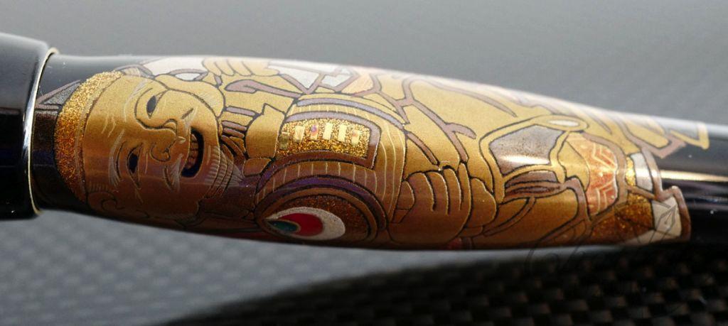 Danitrio Maki-e Limited Edition Daikokuten Grand Trio Fountain Pen