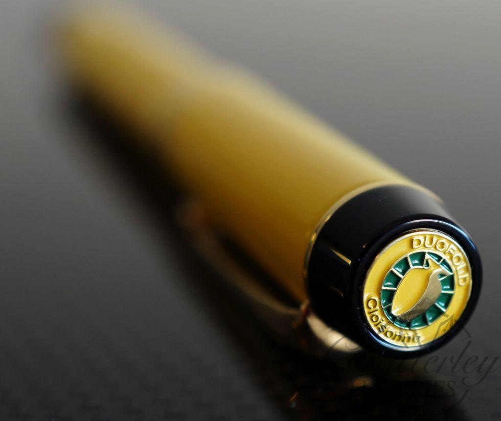 Parker Cloisonne Limited Edition Yellow Fountain Pen
