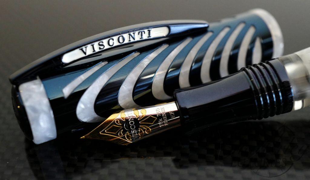 Visconti Blue Ripple Limited Edition Fountain Pen