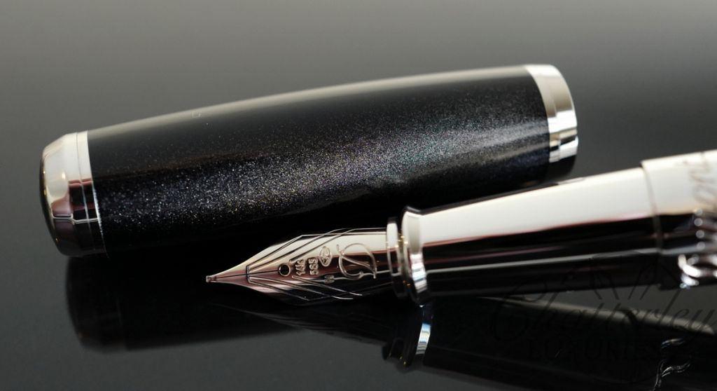S.T. Dupont Limited Edition Meteorite Premium Fountain Pen