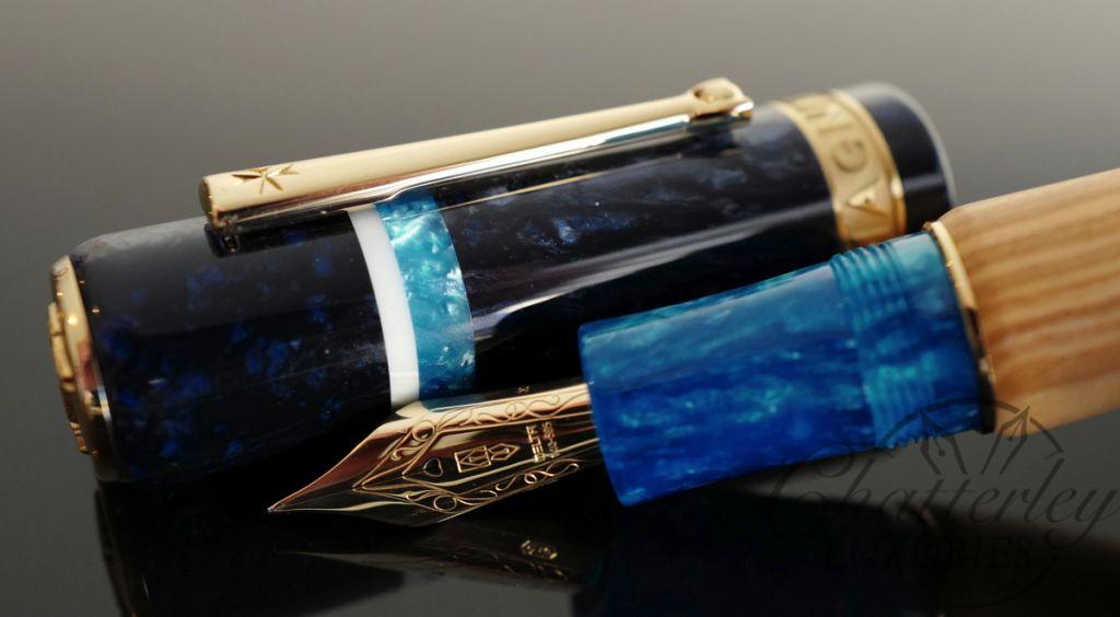 Delta Magnifica Almalfi Fountain Pen with 14k gold nib
