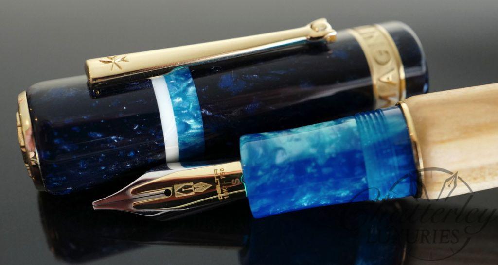 Delta Magnifica Almalfi Fountain Pen Fusion nib