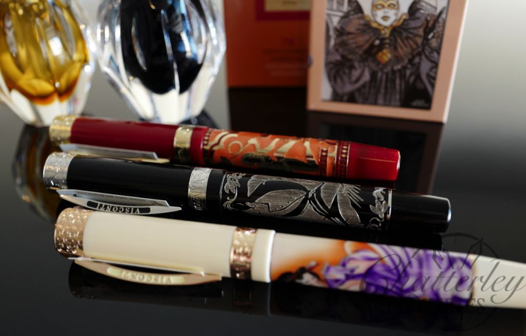 Visconti Erotic Art Limited Edition Fountain Pen Set