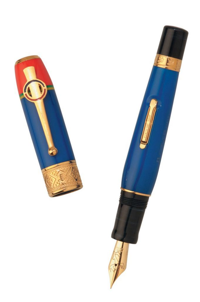 Delta Sami Celebration Solid Gold Fountain Pen1