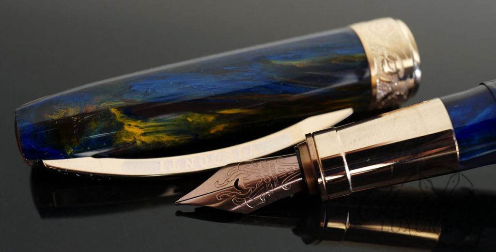 Visconti Van Gogh 125th Anniversary Collection Starry Night Fountain Pen