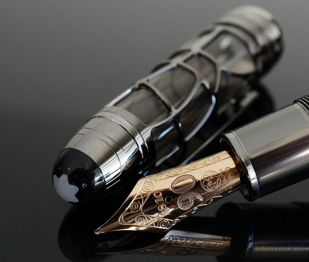 Montblanc Meisterstuck Limited Edition 90 Years Skeleton Fountain Pen