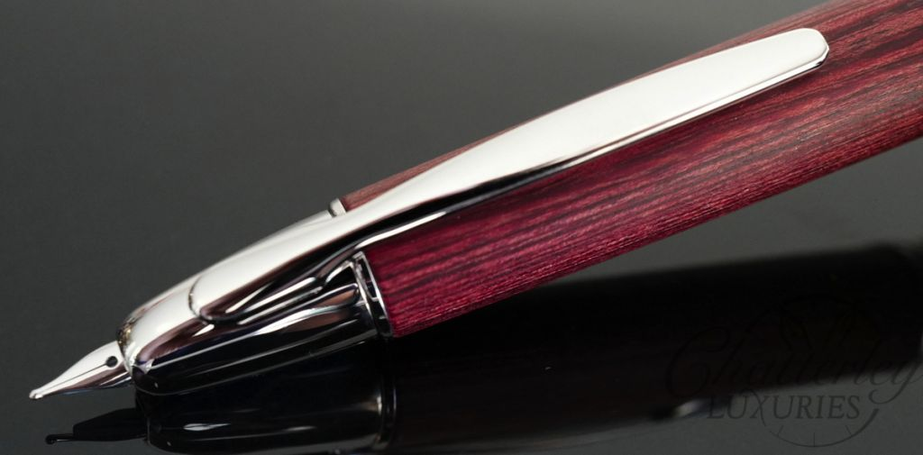 Namiki by Pilot Vanishing Point Collection - Cherry Bamboo Fountain Pen