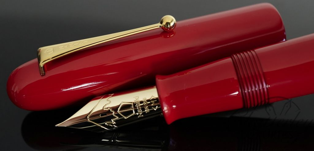 Namiki by Pilot Emporer Red Fountain Pen