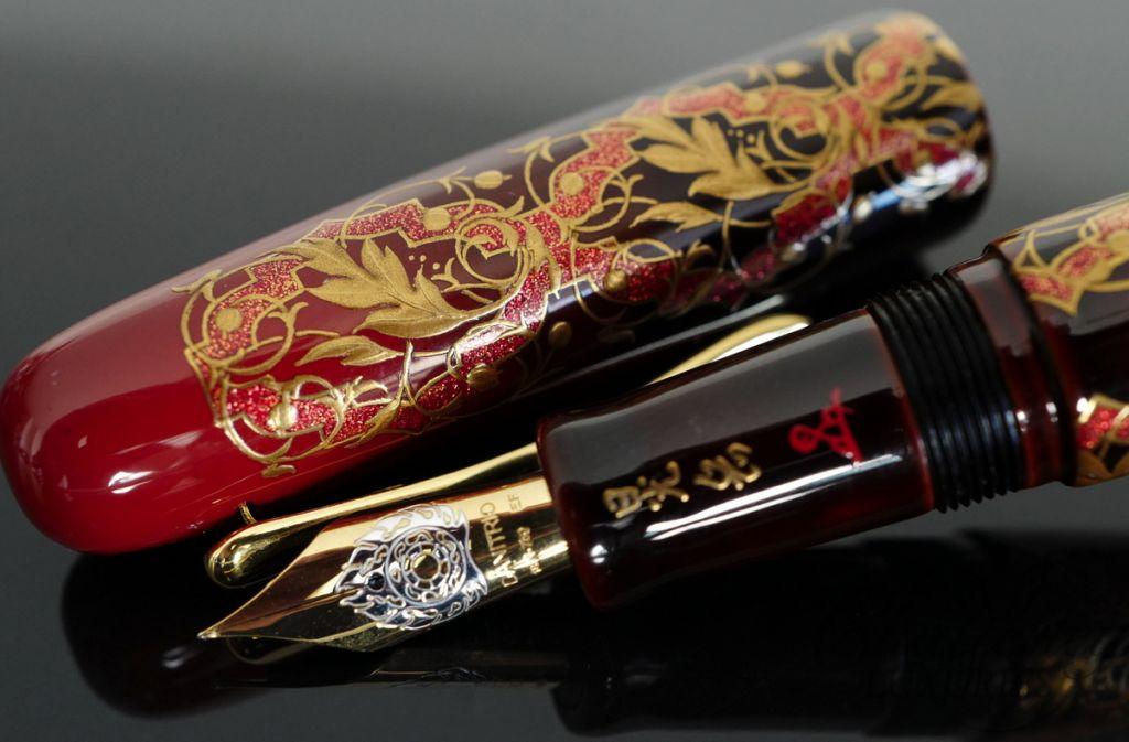 Danitrio Takumi Arabesque Maki-e Fountain Pen