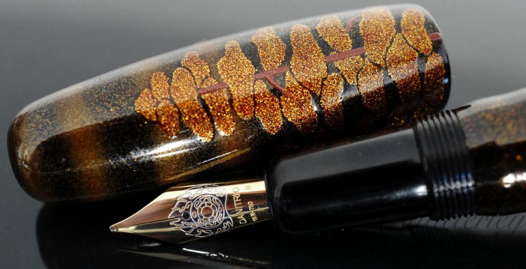 Danitrio Maki-e Hagoromo (Robe of Feather)  (from a famous Noh Play) Limited Edition Fountain Pen
