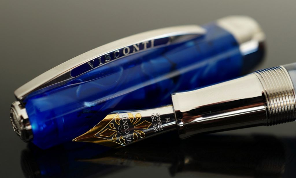 Visconti Fountain Pen Limited Edition Opera Master Blue Demo