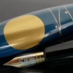 Danitrio Urushi Maki-e Rabbit and the Moon on Hyotan Fountain Pen