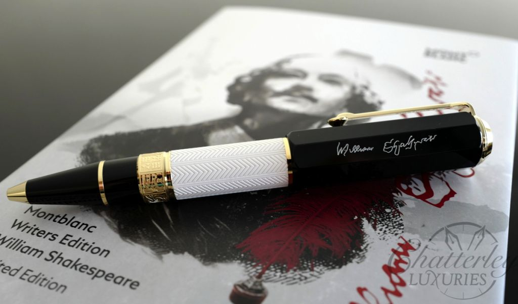 Montblanc Writers Edition William Shakespeare Special Edition Ballpoint Pen
