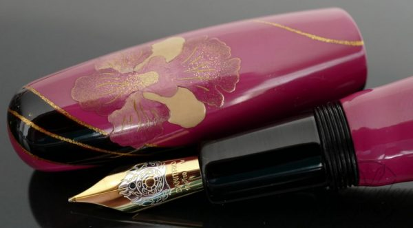 Danitrio Urushi Maki-e Vanda Miss Joaquim on Hyotan Fountain Pen