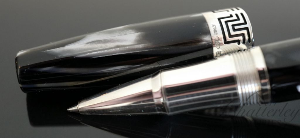 Montegrappa Extra 1930 Black & White Rollerball Pen