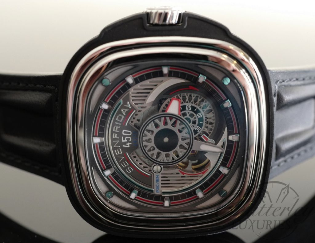 sevenfriday p3c 01 hot rod limited edition automatic watch. Black Bedroom Furniture Sets. Home Design Ideas