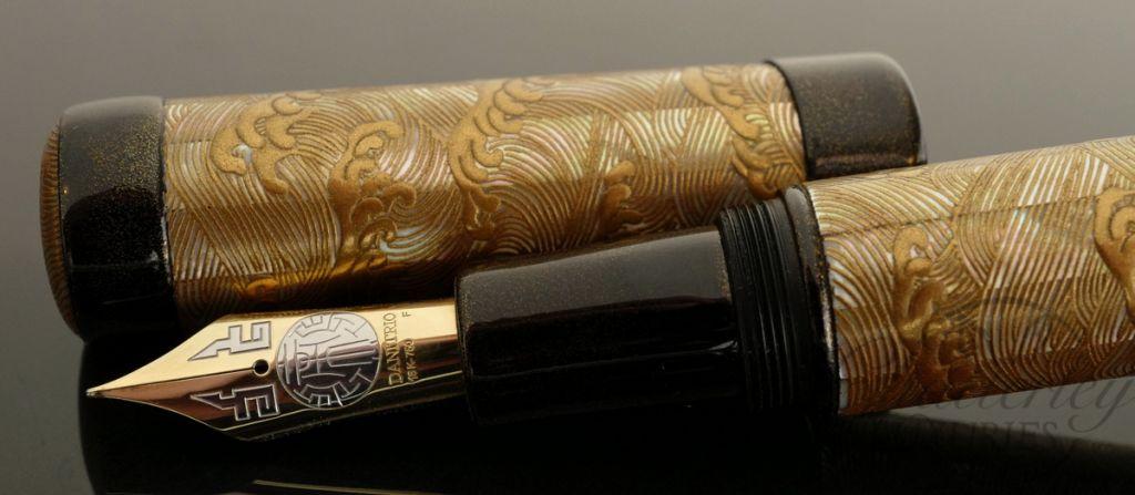 Danitrio Kaijin Nami Wave by Yuhaku (Masayuki Hariya) Fountain Pen