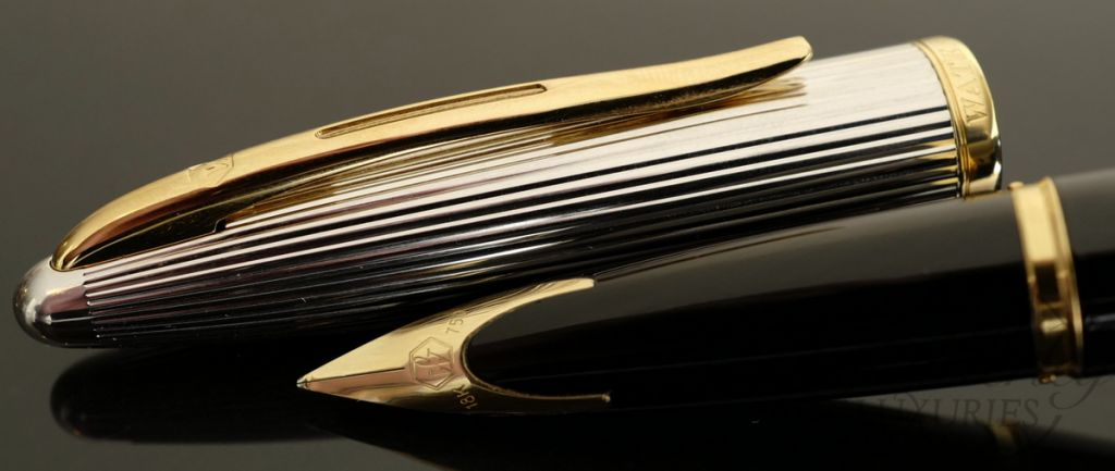 Waterman Carene Deluxe Black Fountain Pen