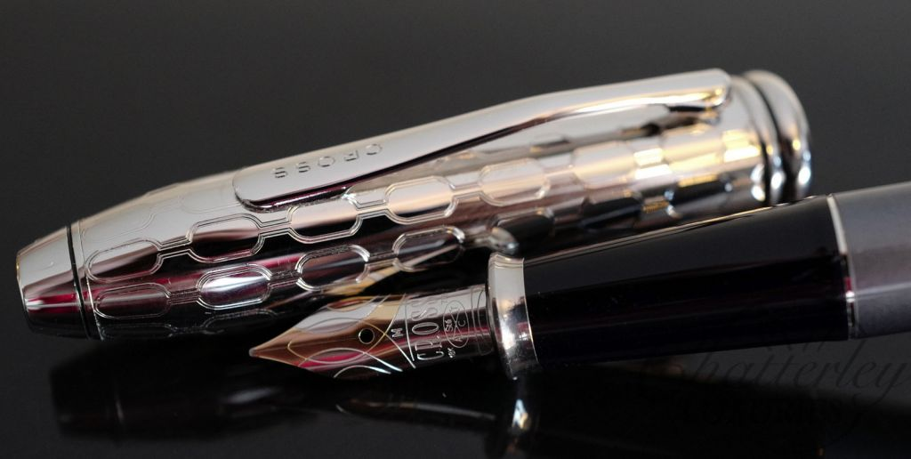 Cross Townsend Grey and Silver Fountain Pen