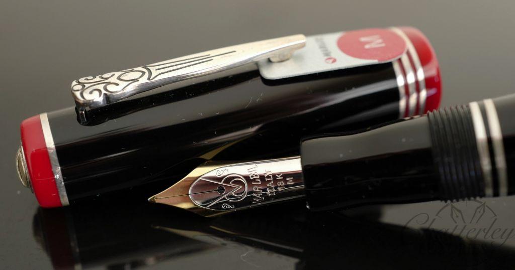 Marlen Basilea Black Fountain Pen