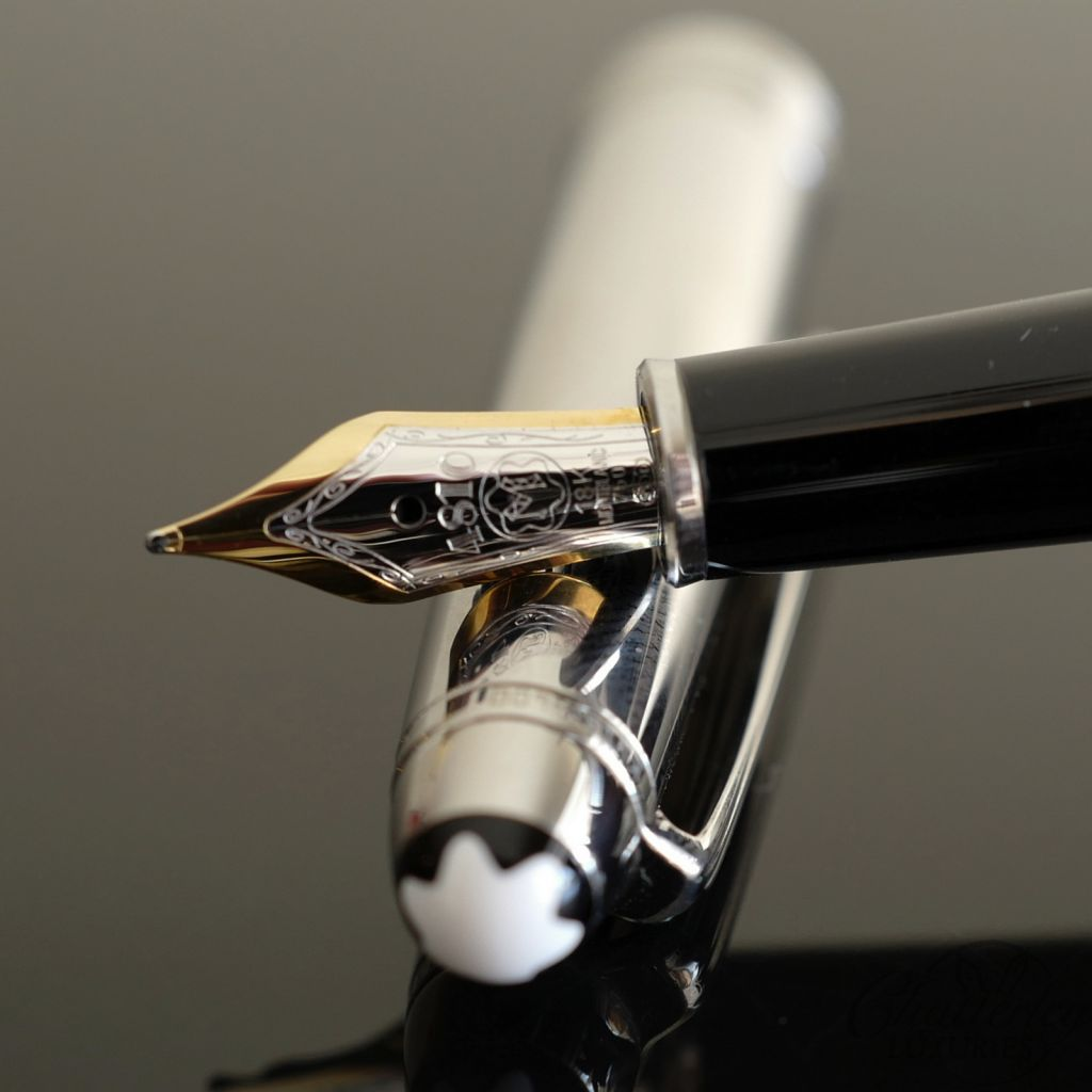 Montblanc 144 Stainless Steel Fountain Pen