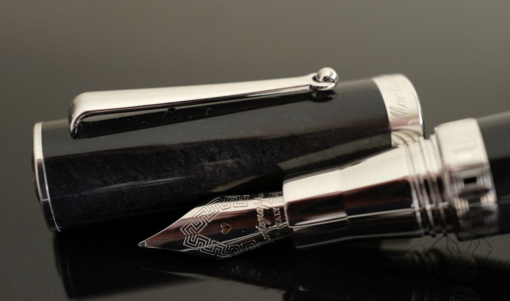 Montegrappa Espressione Black Fountain Pen