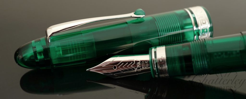 Omas Ogiva Green Demonstrator Limited Edition Fountain Pen