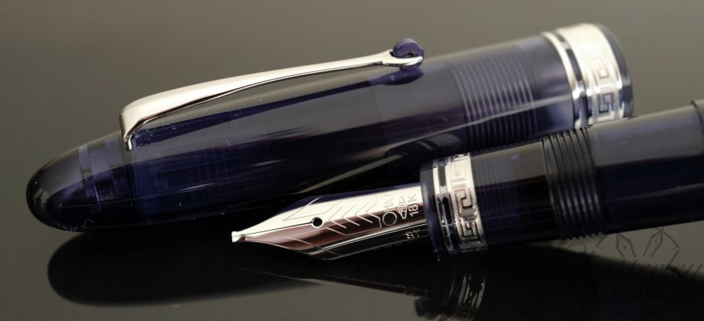 Omas Ogiva Navy Blue Demonstrator Limited Edition Fountain Pen