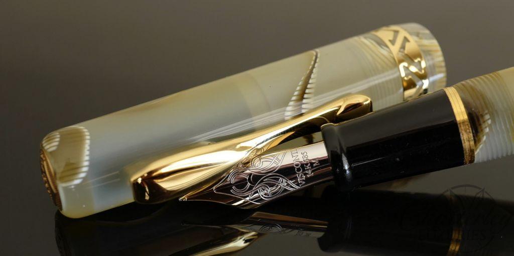 Visconti Kaleido Voyager Honey Almond Fountain Pen