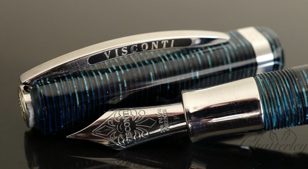 Visconti Wall Street Regular Edition Blue Fountain Pen