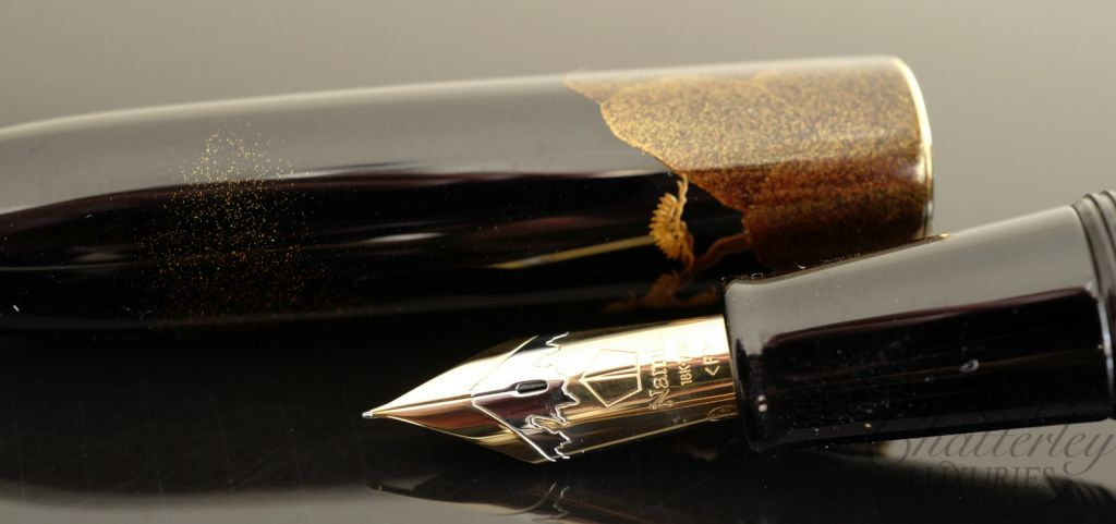 Namiki Yukari Royale Night Scene of Pavilion Fountain Pen