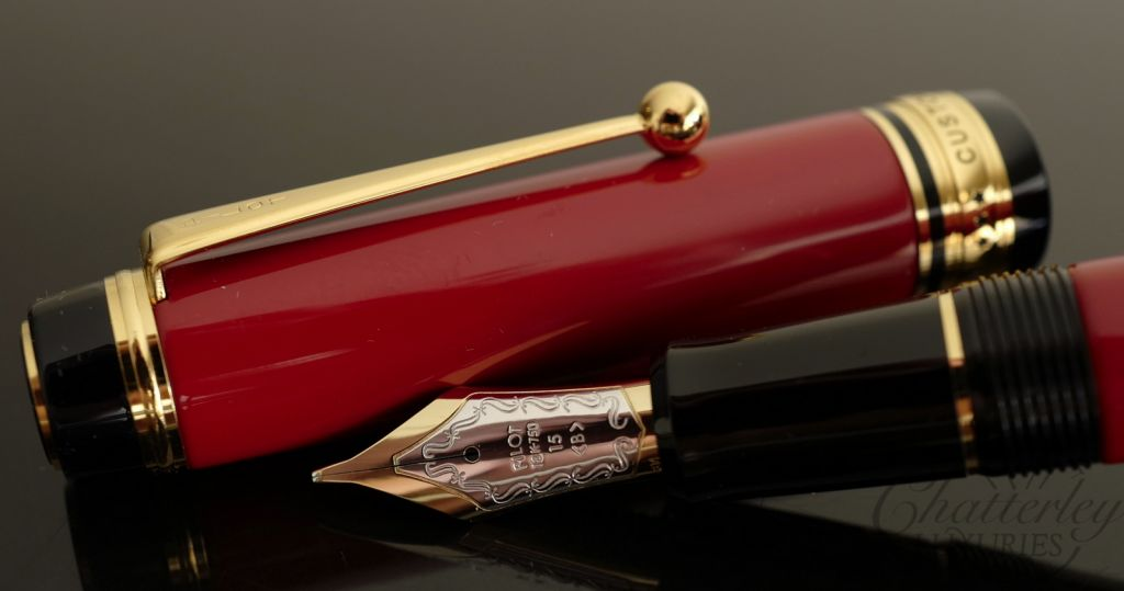 Pilot Custom 845 Red Lacquered Fountain Pen