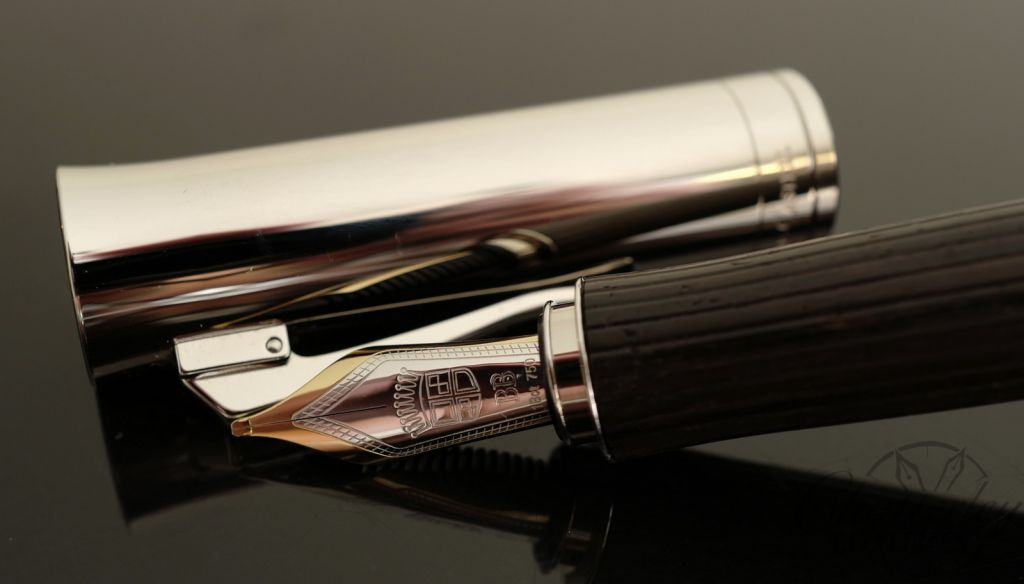 Graf Von Faber-Castell Intuition Platino Wood Grenadilla Fountain Pen