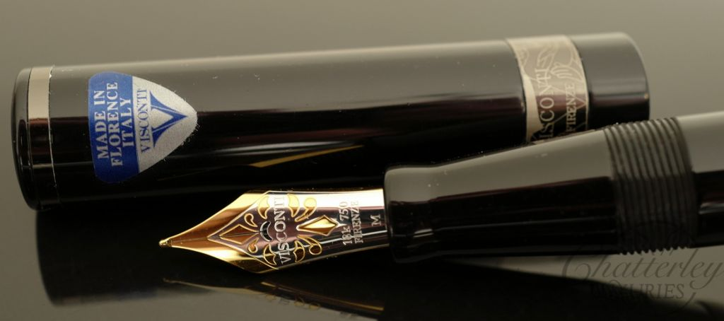 Visconti Erotic Art Limited Edition Fountain Pen & Inkwell - Casanova