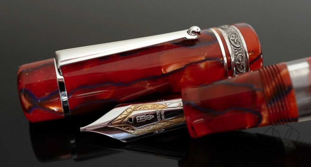 Delta Chatterley Stantuffo Circo Grande Limited Edition Fountain Pen