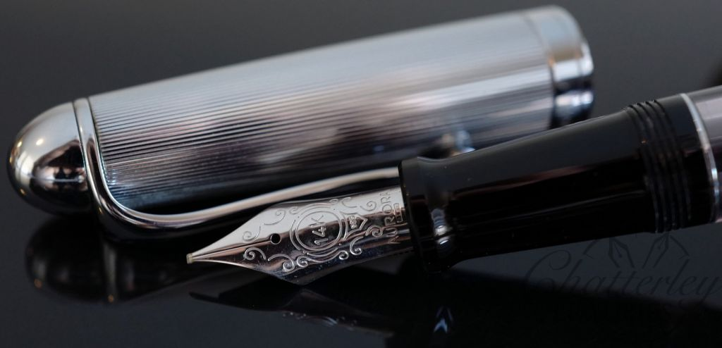 Aurora 88 with Chrome Cap Fountain Pen